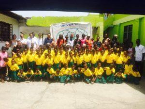 Ayuda para los niños de Accra por parte de los trabajadores de Eurofinsa