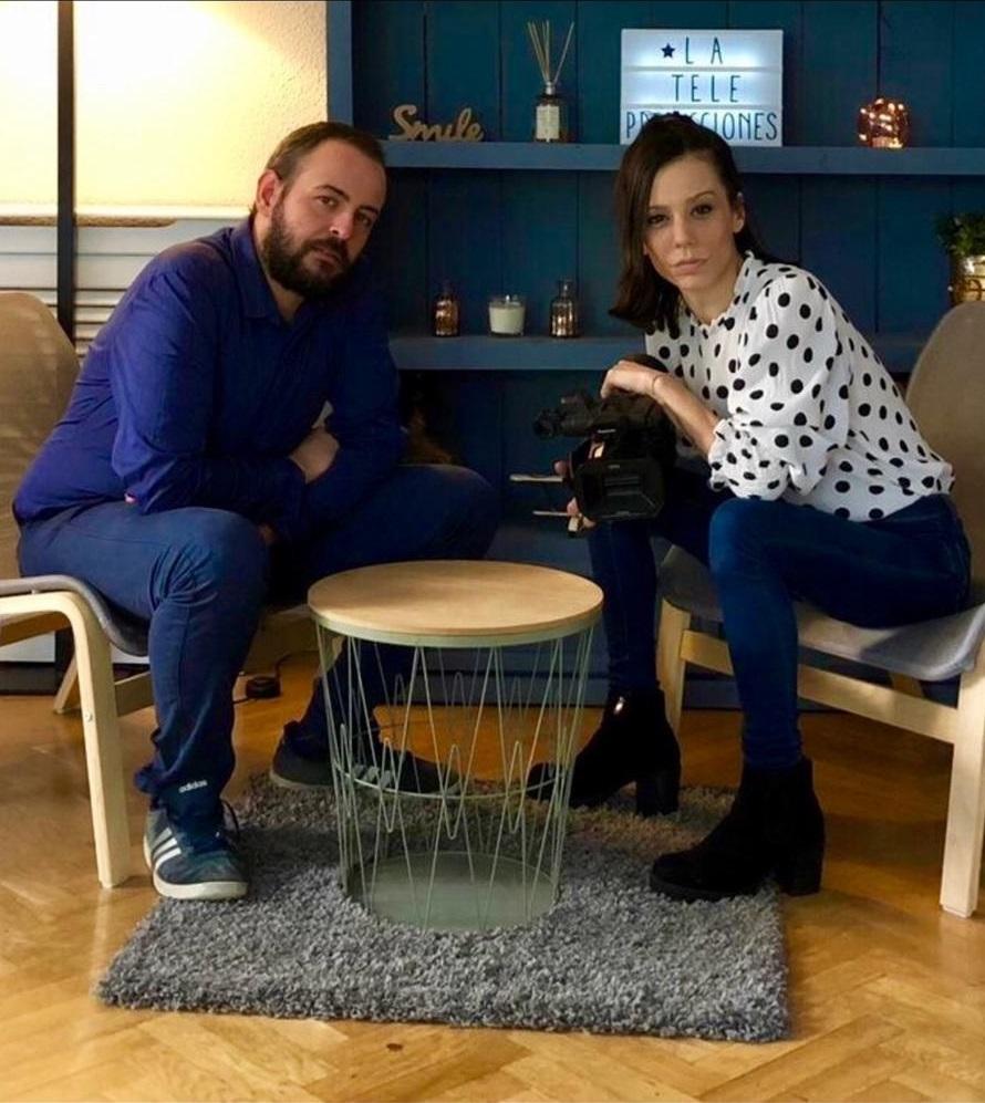 """Diego Rosás y Sara Williams, productores de """"Colaterales"""""""