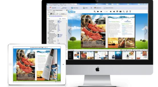 FlipBuilder presenta el software para crear libros animados con un efecto de cambio de página increíble