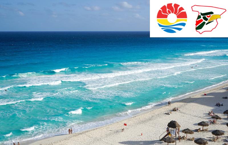 Las playas de Cancún esperan limpias a los turistas